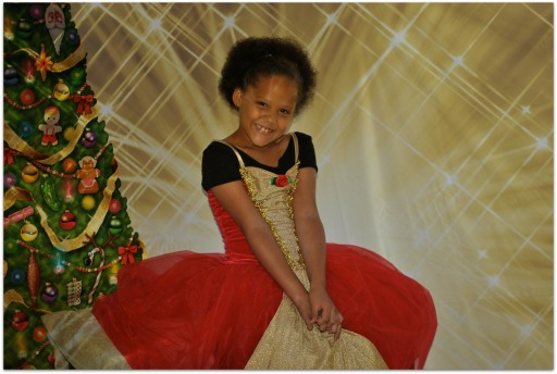 Christmas recital photo shoot 2013